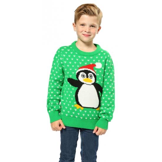 b1e61ef23d0 Kerstmis groene trui pinguin Rudolph | Altijd de goedkoopste ...